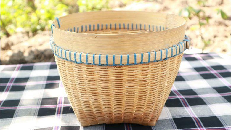 Selain Karya Seni, Berikut Benda yang Terbuat dari Anyaman Bambu